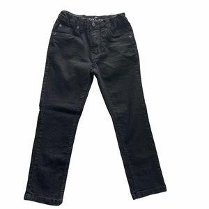 Boys Black Steve's Jeans sz 7